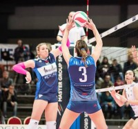 Volley, Serie A2 Donne – Hermaea Olbia demolita a Trento