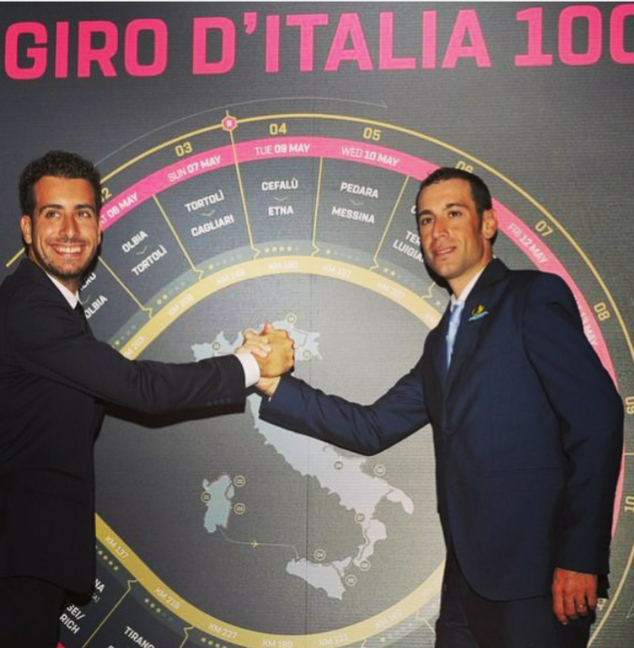 Aru e Nibali un anno fa prima del Giro d'Italia [Bettini Photo]