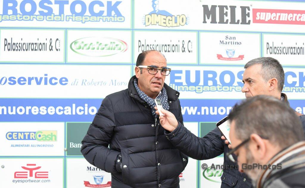 Michele Artedino, presidente della Nuorese