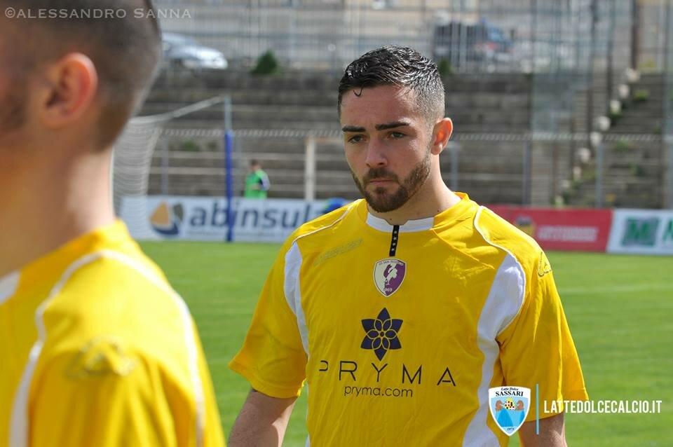 Nicola Raimo, qui con la maglia del San Teodoro (foto Alessandro Sanna)