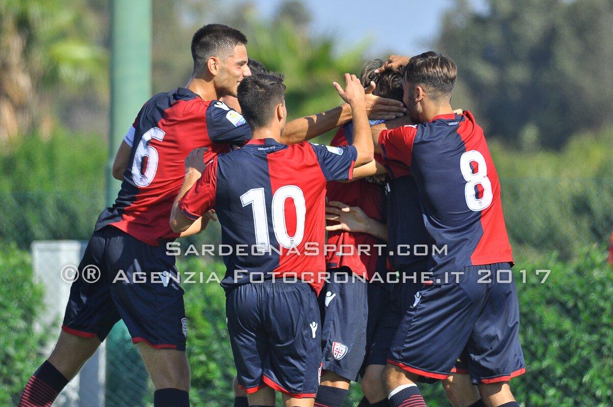 28 ottobre 2017, Assemini, Calcio, Campionato Primavera, Cagliari vs Pescara