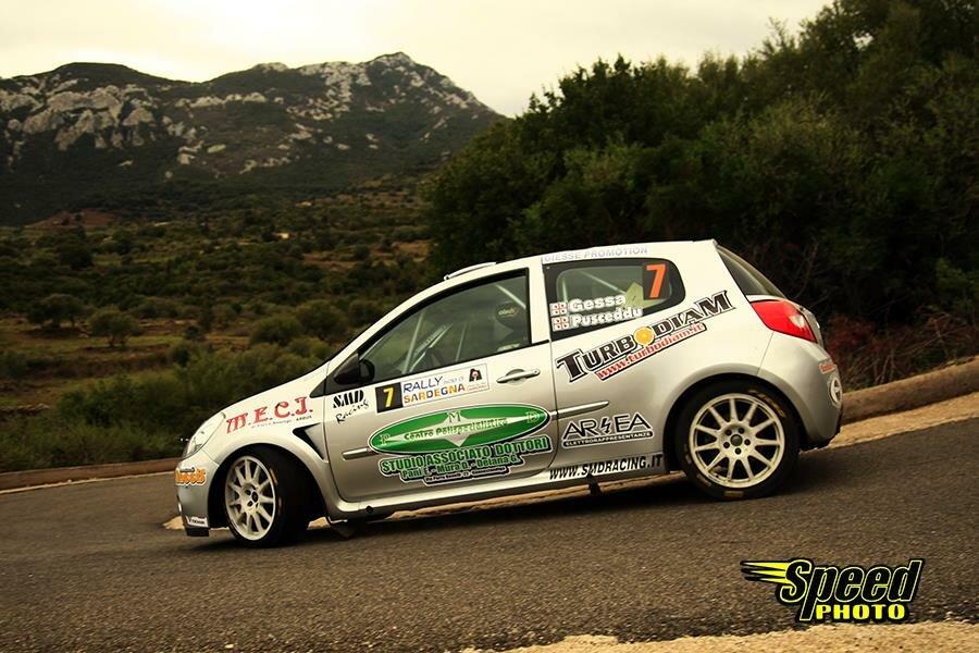 Gessa-Pusceddu al Rally Isola di Sardegna 2017 (foto www.speedfoto.it - Giuseppe Depalmas)